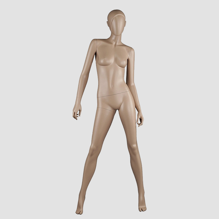 BS-1 Fashion standing likelife skin color female asian mannequin