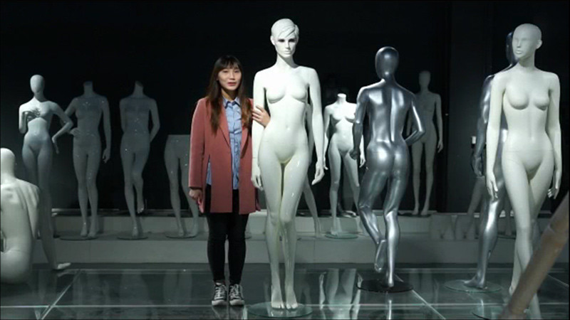 How to assemble a full body mannequin