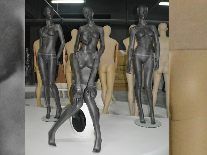 Vintage black female mannequin(TG series)