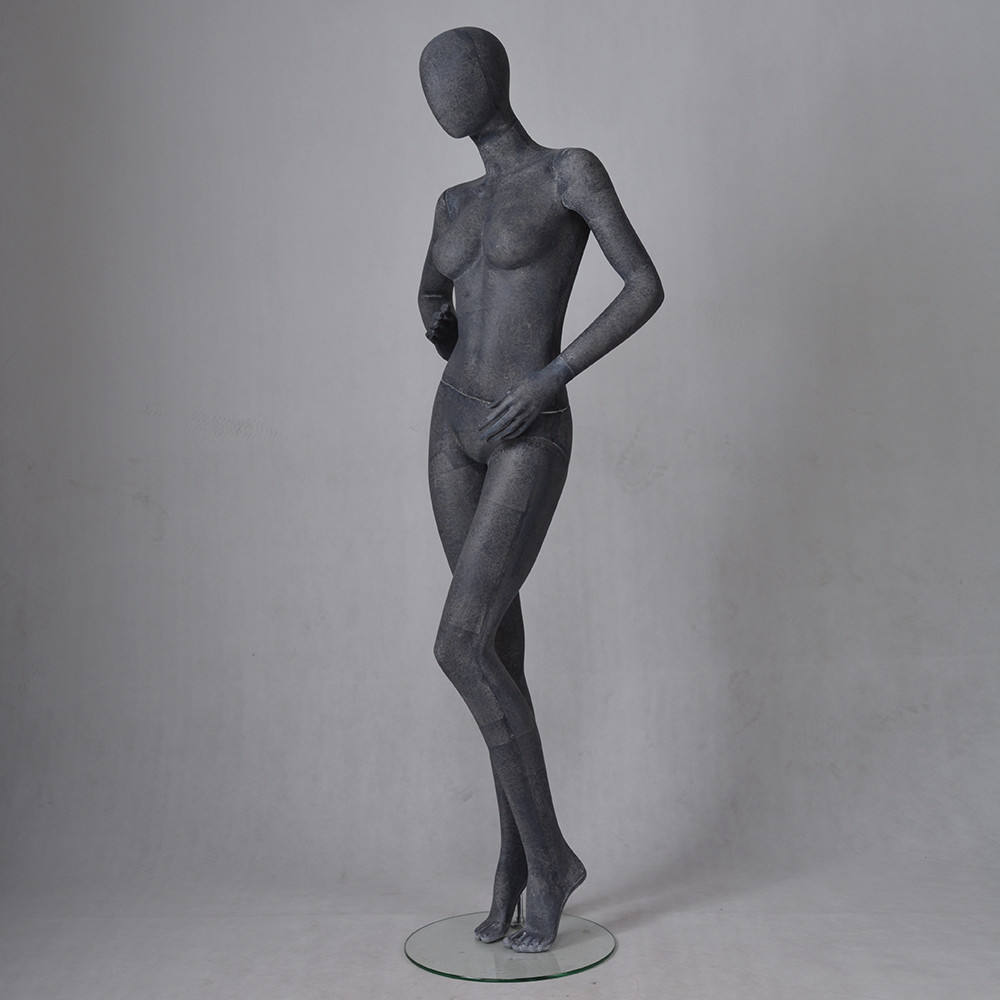 MPF04 Custom lifestyle elegant sexy female black mannequin