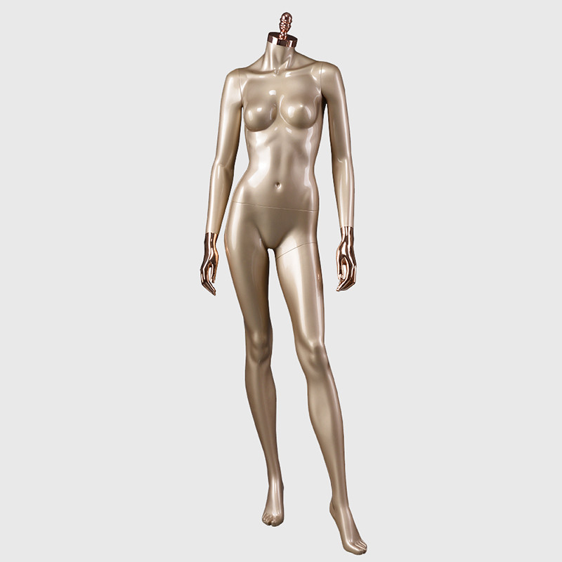 LOF headless fiberglass female mannequin for sale