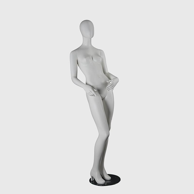 RTF-4 custom matte white full body female mannequin