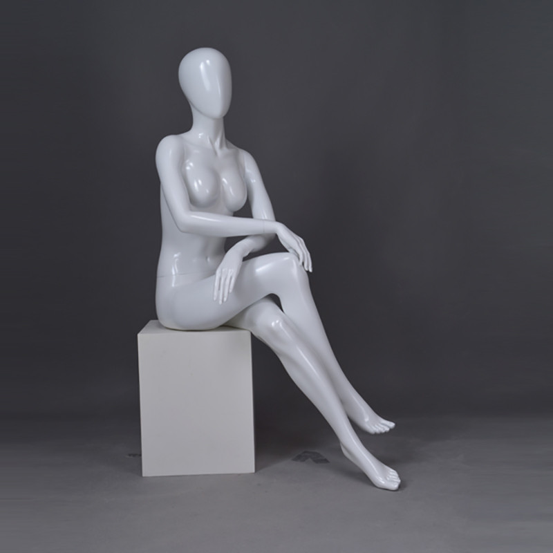 LOF-7 full body skin color female mannequin
