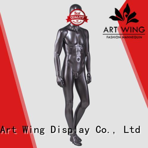 Art Wing elegant chrome mannequin inquire now for suit