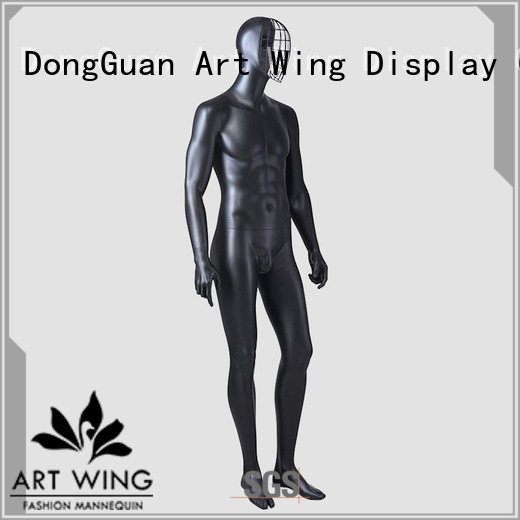 Art Wing vintage male mannequin torso with head wholesale for supermarket