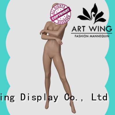 Art Wing durable kneeling female mannequin directly sale for mall