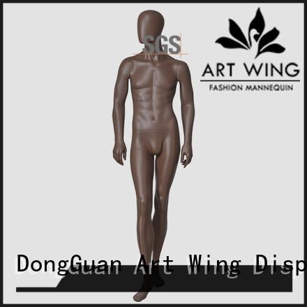 Art Wing change fabric manikin supplier for supermarket