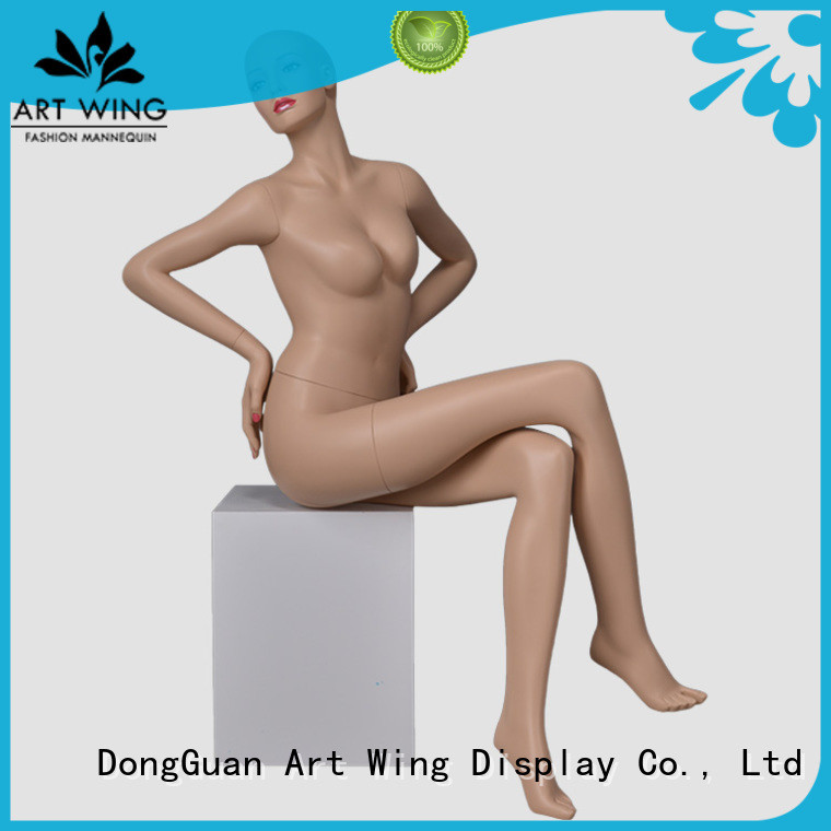 Art Wing practical make up mannequin from China for business