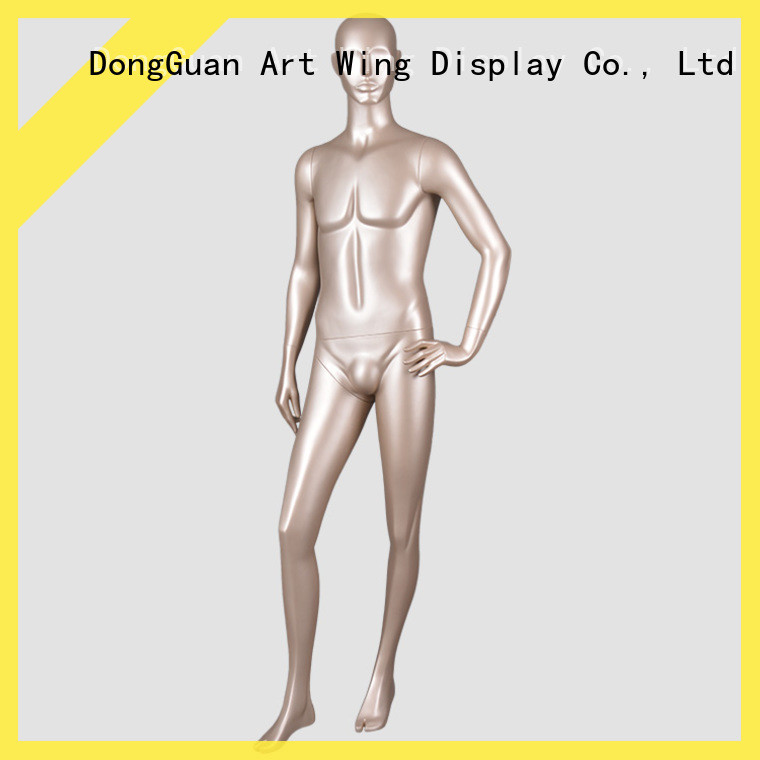 fiberglass male mannequin realistic from China for shop Art Wing