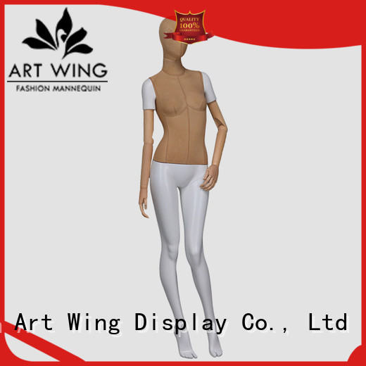 Art Wing garment adjustable female mannequin with good price for suit