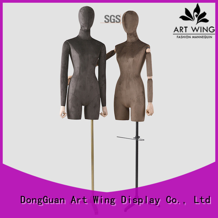 Art Wing dummy female dress form supplier for supermarket