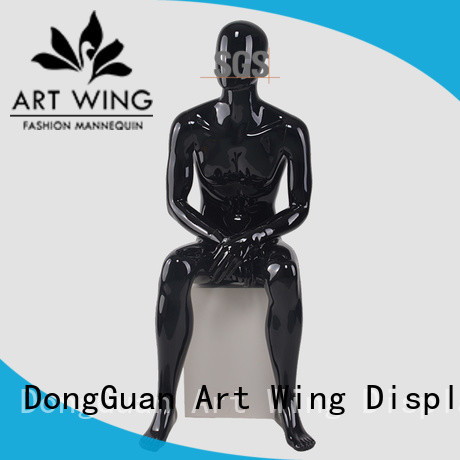 Art Wing stable male dummy factory price for supermarket