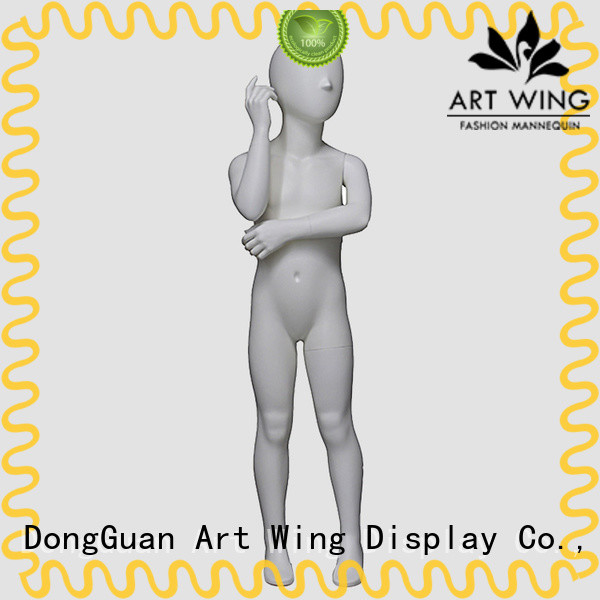 Art Wing white antique child mannequin design for modelling