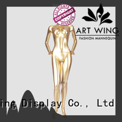 Art Wing mnf7 manikin clothes supplier for supermarket