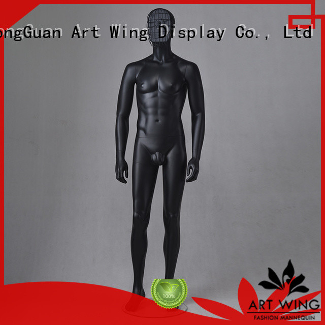 Art Wing professional faceless mannequin personalized for supermarket