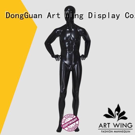 Art Wing durable adult male mannequin manufacturer for shop