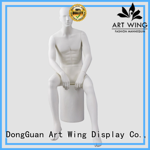 quality white mannequin stand supplier for cloth shop