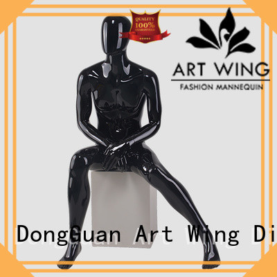Art Wing military mannequin model personalized for cloth shop
