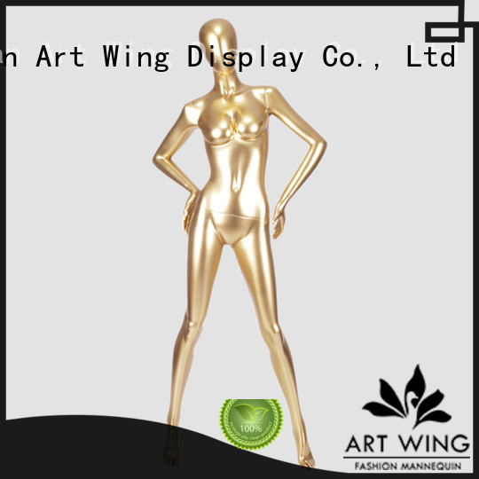sturdy mannequins that look real wholesale for shrit Art Wing