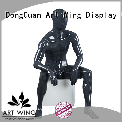Art Wing standing dress dummy directly sale for mall