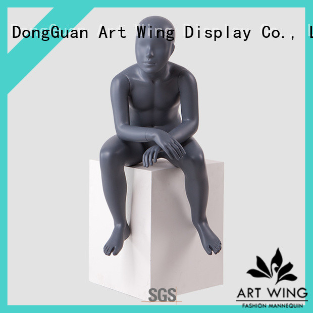 Art Wing sturdy child mannequin stand personalized for shrit