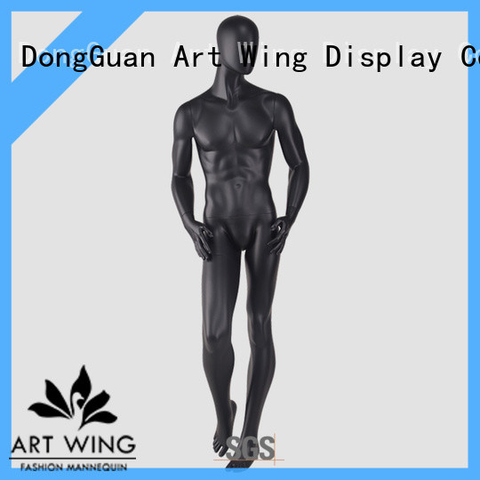 Art Wing body male sitting mannequin with good price