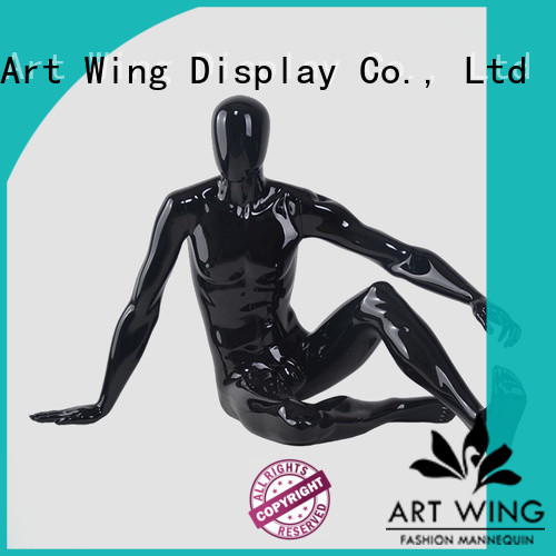 Art Wing stable fashion dummy black for cloth shop