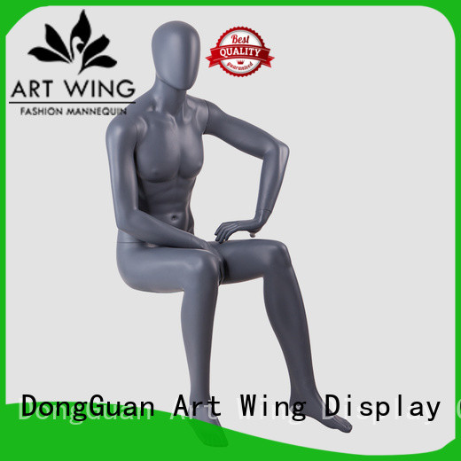 Art Wing nude fiberglass mannequin customized for business