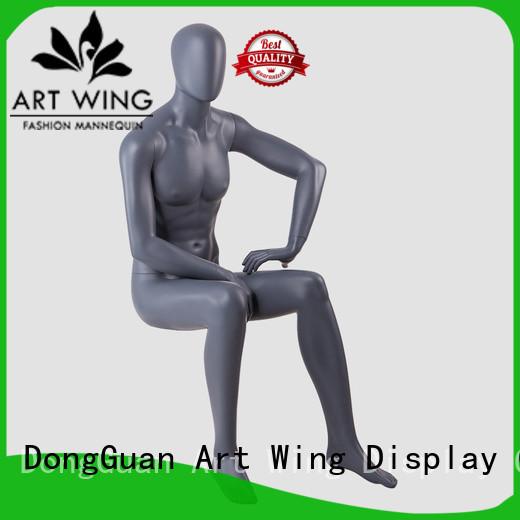 Art Wing nude fiberglass mannequin customized for business