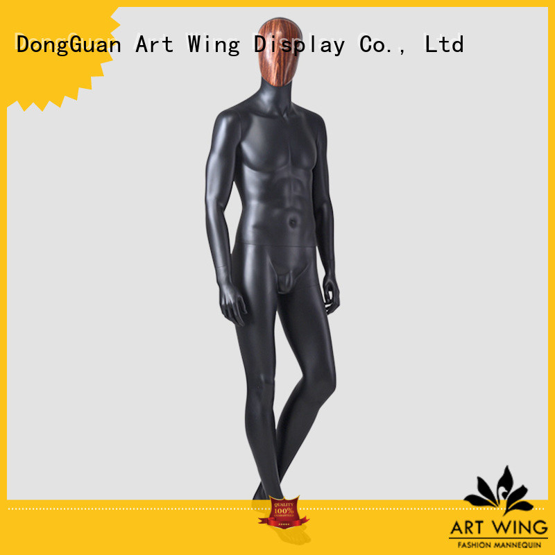 Art Wing sturdy male adjustable mannequin supplier for cloth shop