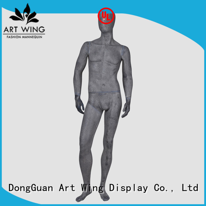 YB-1 Resin color full body sexy male mannequin abstract display mannequins sale