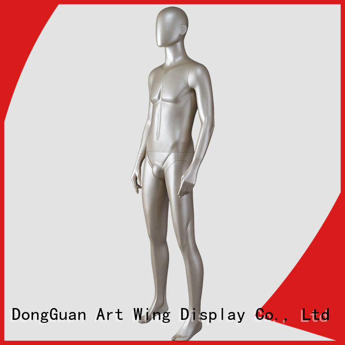 durable large male mannequin series for mall Art Wing