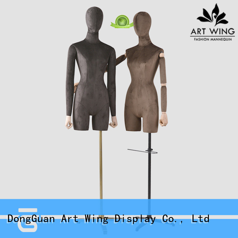 body female dress form wholesale for cloth shop Art Wing