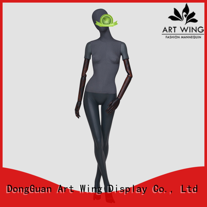 top quality female half mannequin wodden with good price for modelling