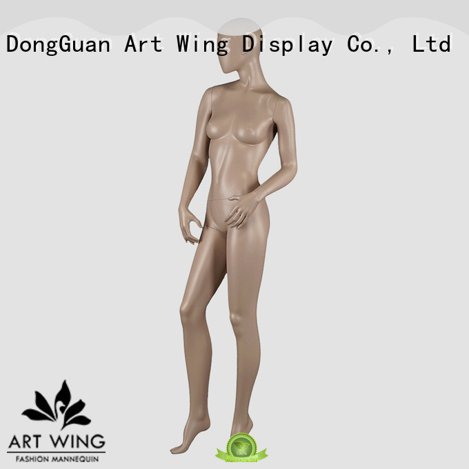 skin mannequin lady from China for mall Art Wing