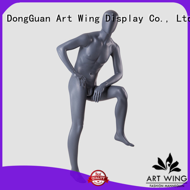 Art Wing quality sports mannequin manufacturer for mall
