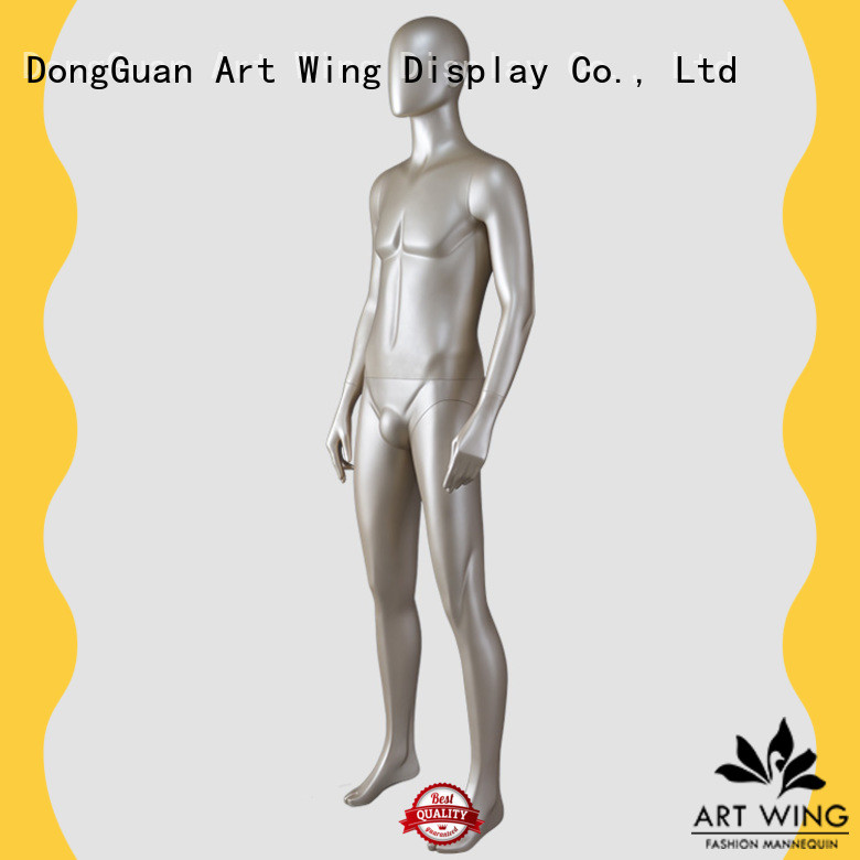 Art Wing color mannequin body stand manufacturer for shop