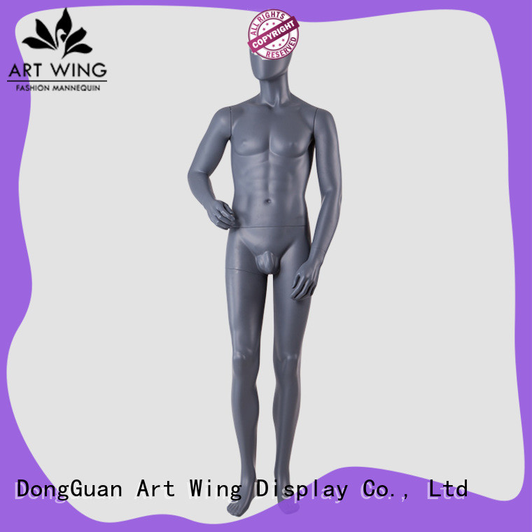 Art Wing man plus size mannequin customized for shop