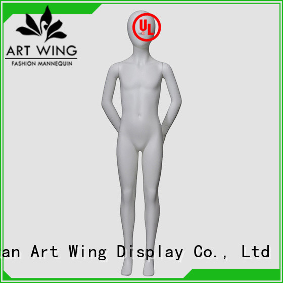 Art Wing popular child mannequin body with good price for store