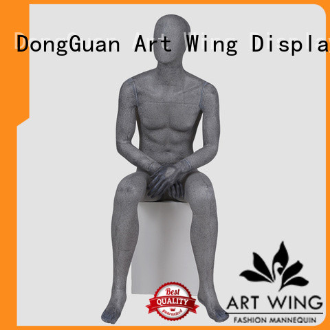 Art Wing yb5 men mannequin factory price for supermarket