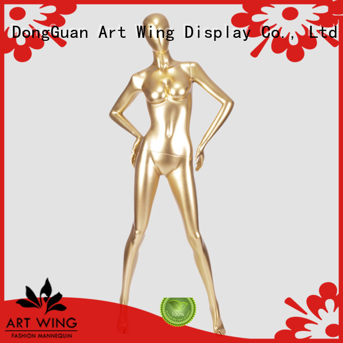 Art Wing quality manikin female personalized for shrit