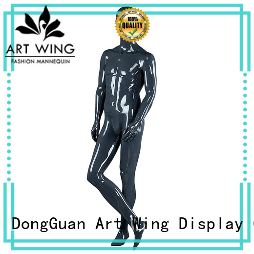 Art Wing grey dress dummy customized for display