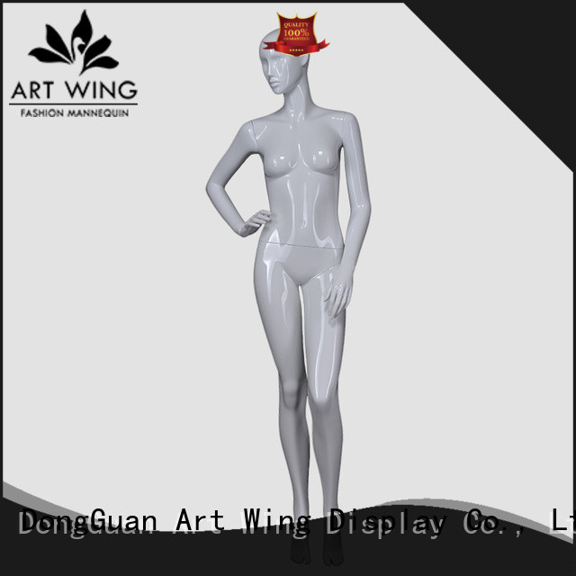 hot selling standing female mannequin customized for display Art Wing