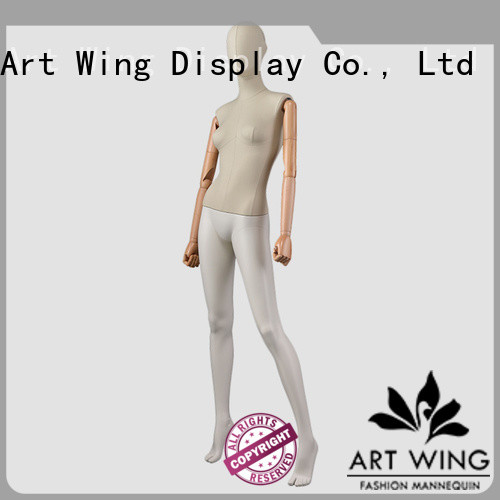 Art Wing elegant mannequin on stand with good price for clothes