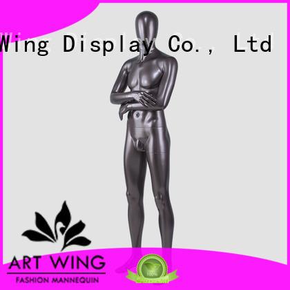 Art Wing vintage chrome mannequins wholesale inquire now for suit