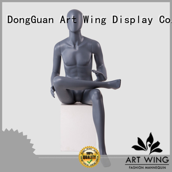 KENT-J Abstract full body mannequin muscle male sitting mannequin