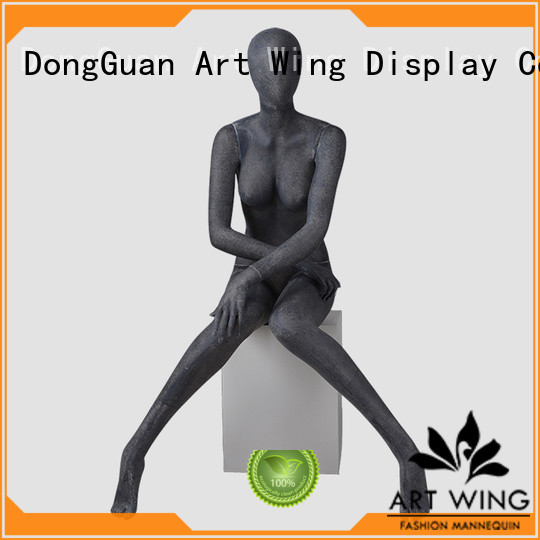 mpf06 grey female mannequin black for store Art Wing