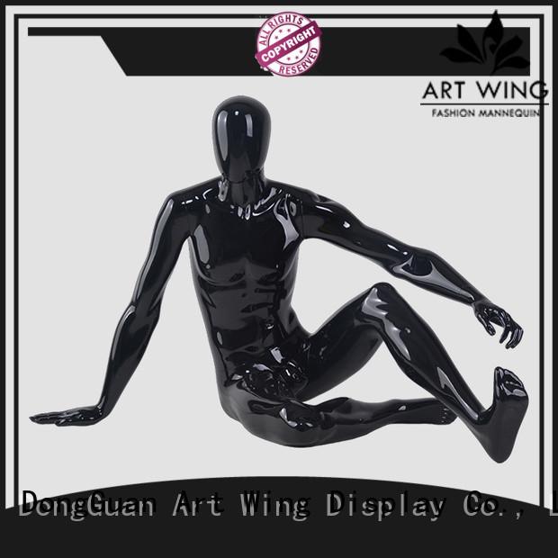 Art Wing m2204 mannequin suit wholesale for supermarket
