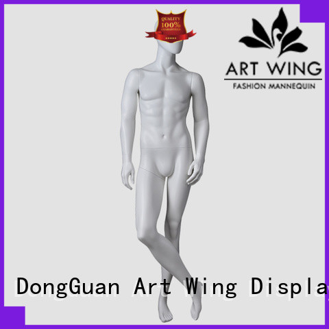 Art Wing certificated gents mannequin personalized for cloth shop