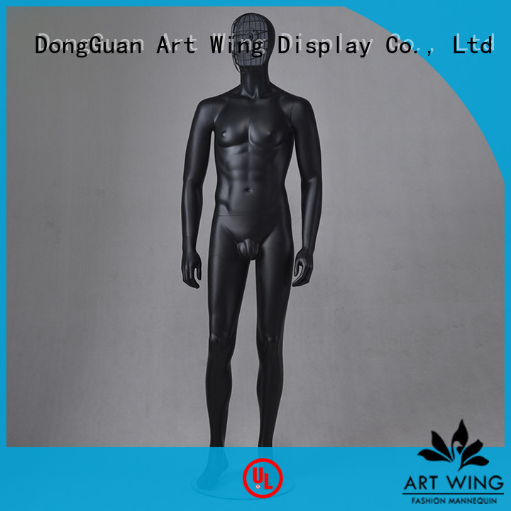 Art Wing certificated male mannequin torso with head factory price for cloth shop